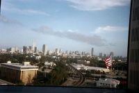 Miami skyline from hospital room - Miami