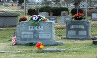 Hicks grave in Oxford NC