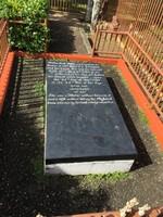 Mystery gravestone