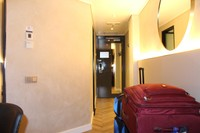Luggage in the hall
