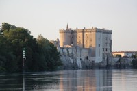 King Rene's castle on the Rhone