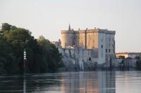 King Rene's castle on the Rhone