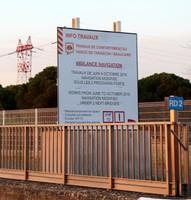 Lock - Viaduc de Tarascon/Beaucaire.  Works from June to October