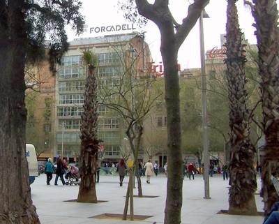 Placa de la Universitat