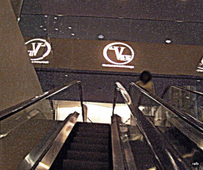 Escalator to The View