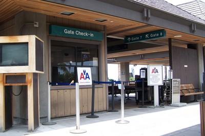 Gates at Airport in Kona