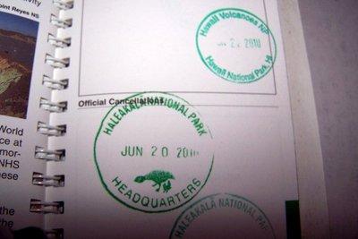Haleakala stamp