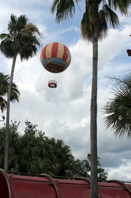 Planet Hollywood and Balloon ride