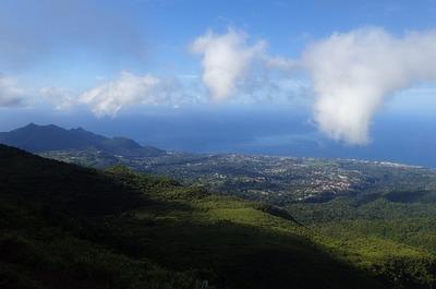 Great views down below, too
