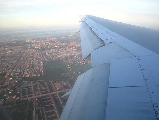 Over Casablanca