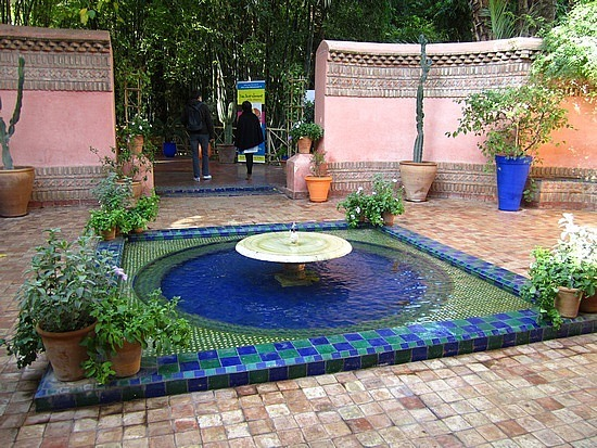 Entry to the Jardin Majorelle