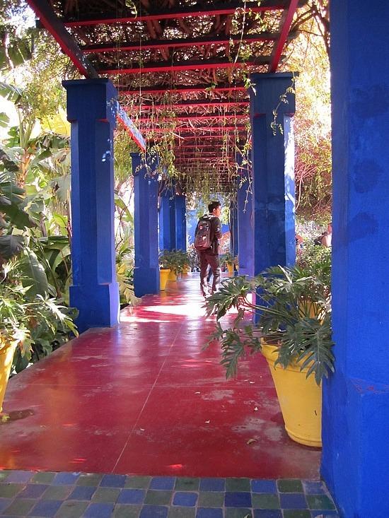 Beautiful covered walkway