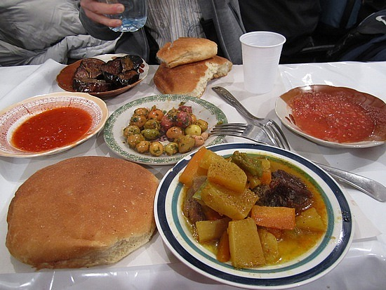 Dinner in Djemma el-Fna