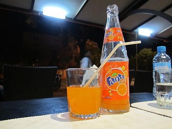 Fanta doesn't taste the same at home