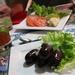 Boudin créole and rillettes de Marlin