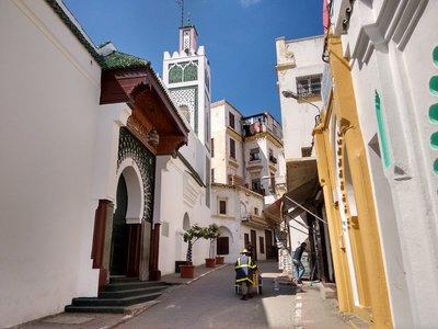 Tangier, Morocco,  Medina the Grand Mosque