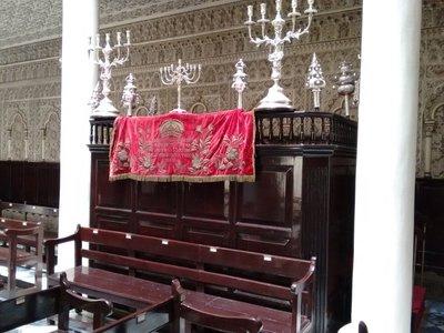 Tangier Nahon Synagogue circumcision altar