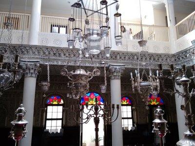 Tangier Nahon Synagogue upper balcony