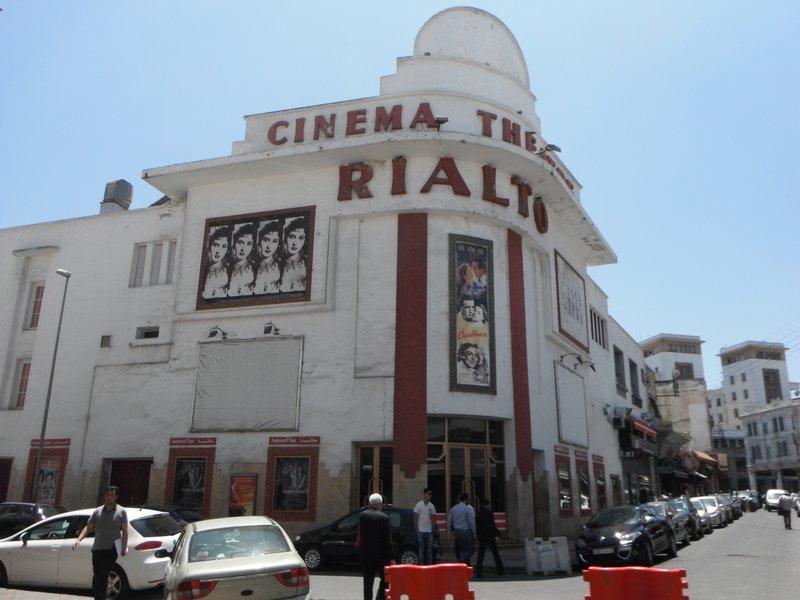 Casablanca Rialto Cinema and Casablanca movie implanted