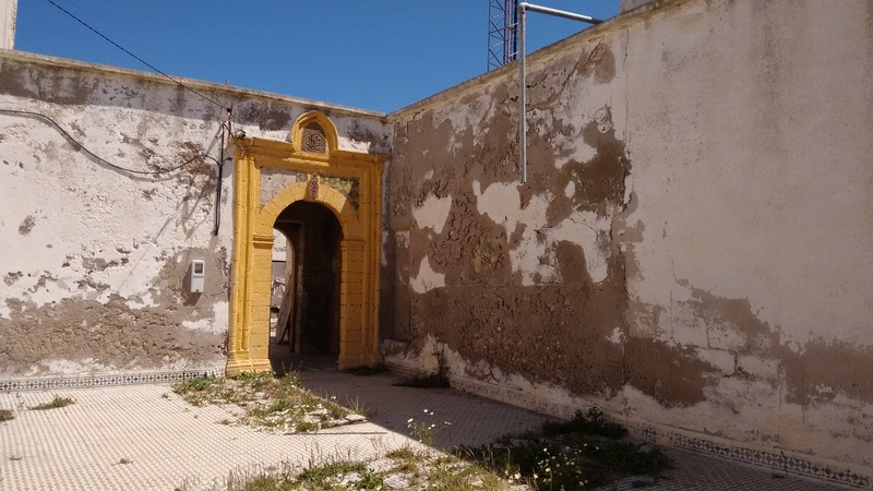 Essaouira Mausoleum of Sidi Magdoul interior door