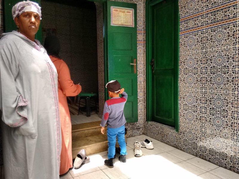 Casablanca, Mausoleum of Marabout Sidi Abderrahman child guidance
