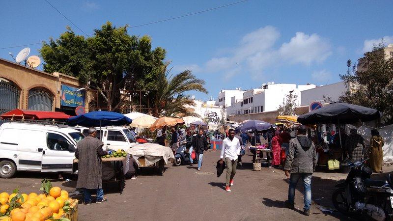 Casablanca Old Medina Place Jamaa Souk