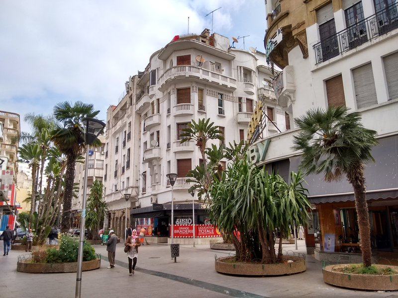 Casablanca Rue Abderrahman Sahraoui