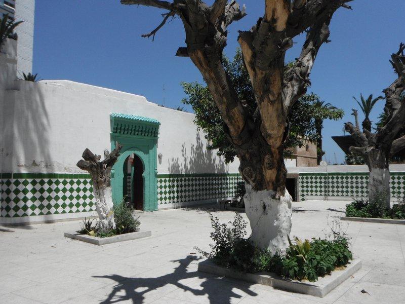 Casablanca Koubba of Marabout Sidi Belyout, the city's patron saint