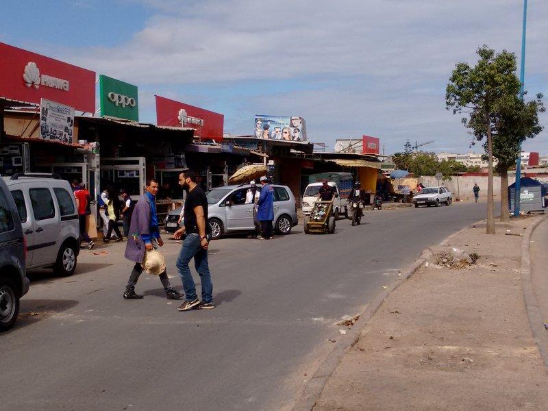 Casablanca Derb Ghallef flea market