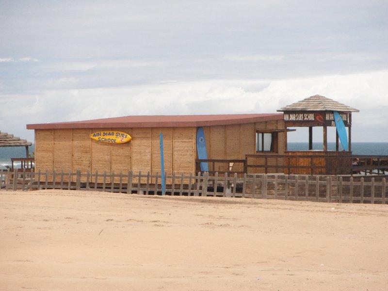 Casablanca Ain Diab beach surf club