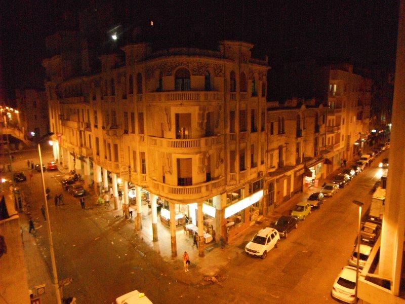 Casablanca Rue Chaouia by night