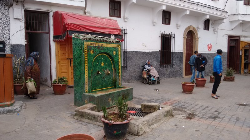 Casablanca Old Medina a communal drinking fountain