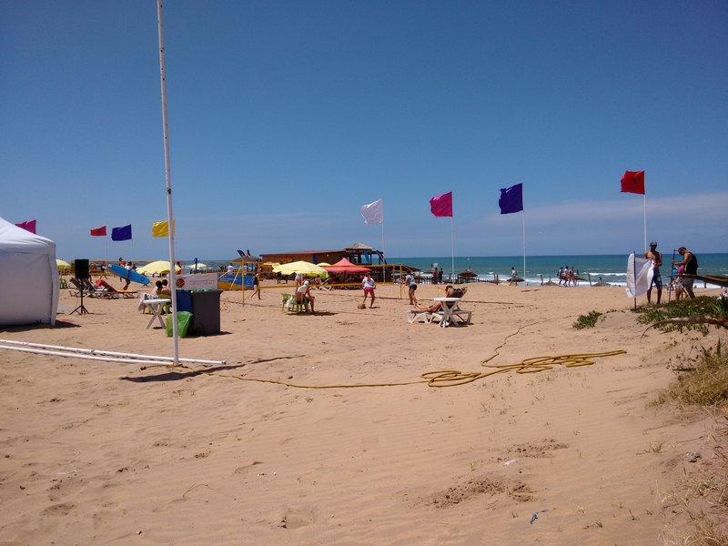 Casablanca Morocco, Ain Diab beach..