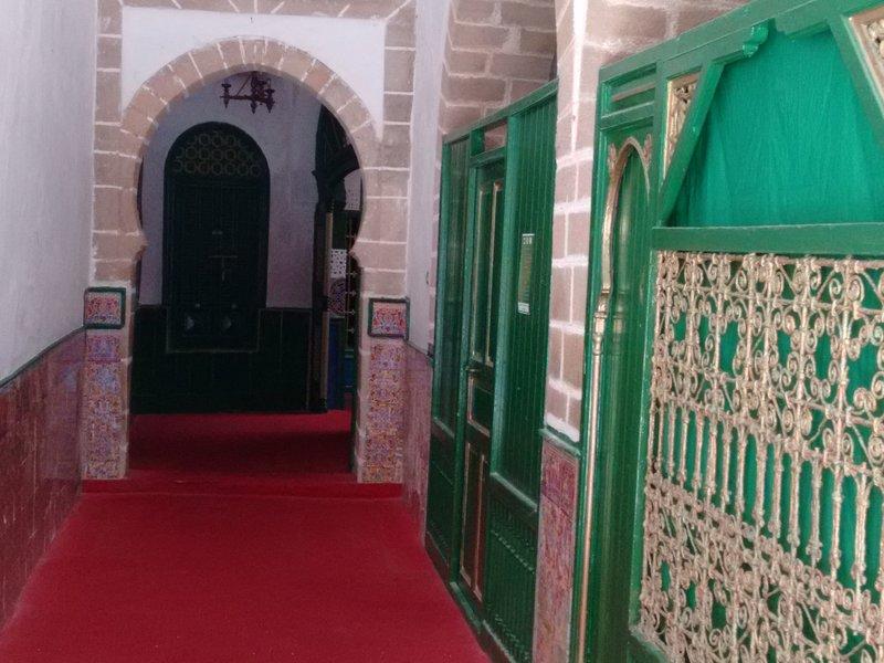 Casablanca, interior of the Koubba Marabout Sidi Belyou, Casablanca's patron saint.