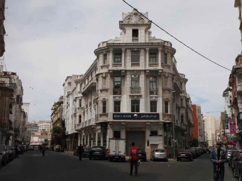 Casablanca BMCI bank Rue Chaouia