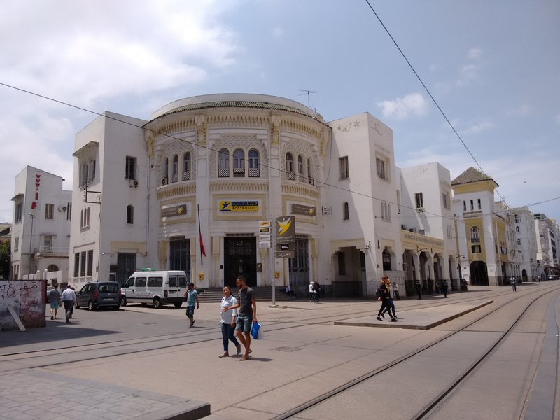 Casablanca Bvd Mohammed V post office