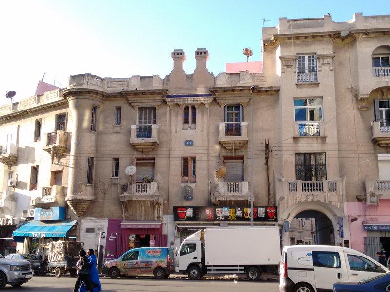 Casablanca Rue Hommens el Fetouaki art deco architecture
