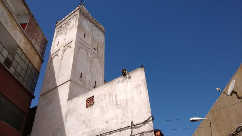 Casablanca Old Medina the Chleu Berber Mosque in the street of the same name