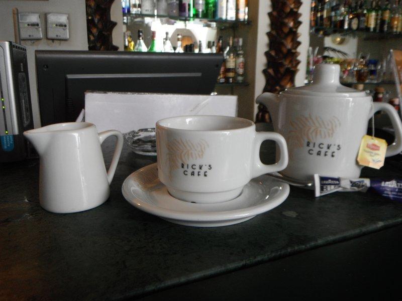 Casablanca Ricks teapot..