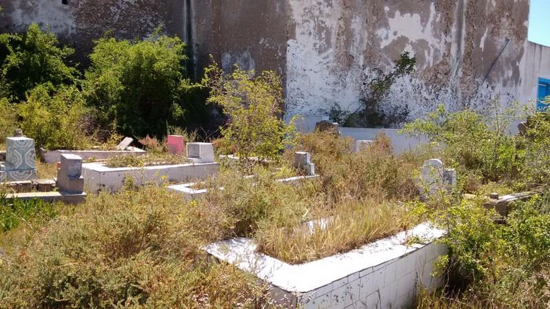 Essaouira Mausoleum of Sidi Magdoul small grave yard