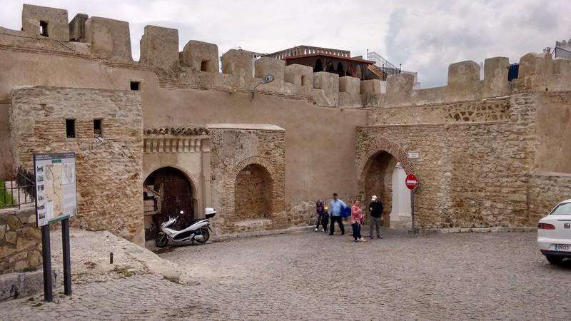 Tangier Medina Mechouar and Bab Haha gate