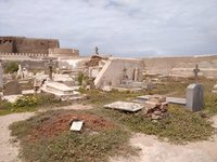 Essaouira Morocco. Christian cemetery