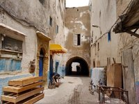 Essaouira Rue Mellah, Jewish quarter