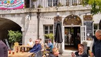 Gibraltar, Lord Nelson tavern, Casemates Square....