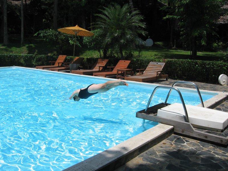 Fern resort swimming pool