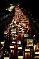 traffic congestion in Manila