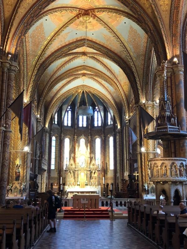 Buda Castle church