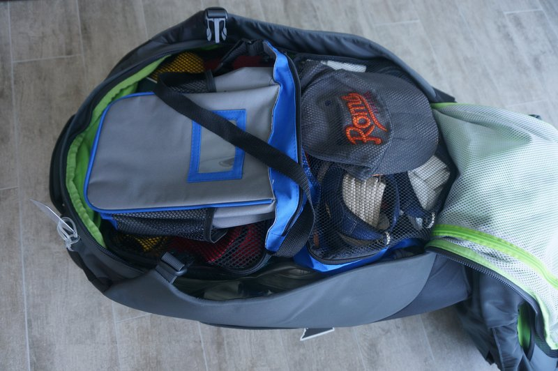 luggage loaded