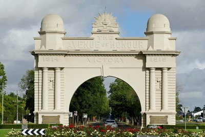 Arch of Victory, Ballarat