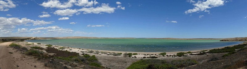 Panoramic view of Baird Bay